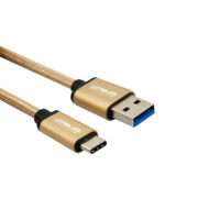 Gold usb c cable